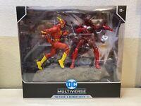McFarlane DC Rebirth Flash Batman Earth-52 Red Death