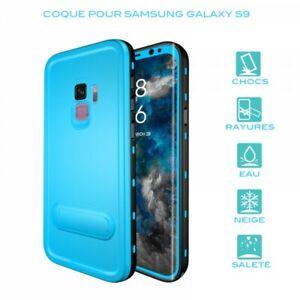 Case Waterproof For Samsung Galaxy S9 IN Blue