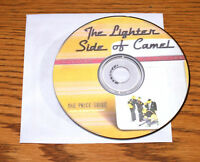 The LIGHTER SIDE of CAMEL  Zippo Reference Guide Book CD Values shows Prototypes