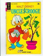 walt disney uncle scrooge no.105 1973