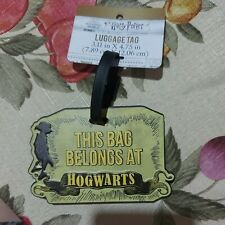 HARRY POTTER - This Bag Belongs At Hogwarts - LUGGAGE TAG - BRAND NEW -