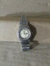 Orient Crystal 17 jewels, vintage Reloj Automático de Señora, 30mm esfera, acero
