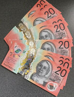 🌟BRAND NEW - VERY COLLECTABLE🔥 -  2019 $20 note - 💰New Generation 🇦🇺 UNC