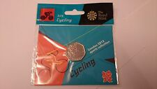 Hanging Bagged  * Cycling * London 2012 Olympic 50p Sports Collection