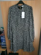 Warehouse Little Leaf Minidress Size 16 New with Tags Rrp £46 Stunning