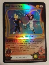 Dragon Ball Z Score CCG TCG Red Static Shot Foil DBZ 78