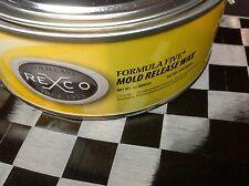 Fiberglass Mold Release Wax Paste - 12oz can--- Free Shipping