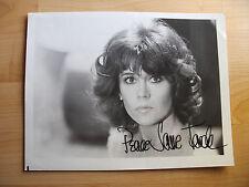 Jane Fonda #1 actrice großfoto avec original autographe.