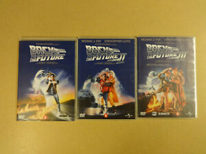 4-DISC DVD SET / BACK TO THE FUTURE - DEEL I, II, III