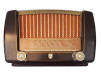 Sehr schönes Röhrenradio Philips France, La Lyre BF 311 A, Bastler