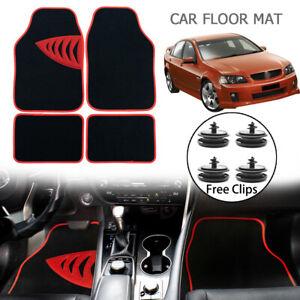 4PCS Universal Floor Mats Free Clips For Holden Commodore VN VP VR VS 1988-1997