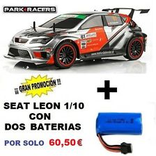 Coche Radiocontrol Seat Leon 1/10 RTR Con Dos Baterías Juguete Rc Ninco NH93100B