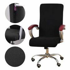 Universal Jacquard Fabric Office Chair Cover Elastic Seats Stretch Rotating Lift