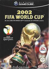 2002 FIFA WORLD CUP for Nintendo Gamecube - with box & manual