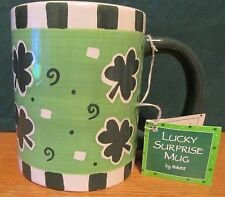 LUCKY SUNRISE MUG  BY GANZ    LEPRECHAUN INSIDE CUP