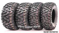 Set 4 WANDA ATV tires 24x8-12 24x8x12 & 25x11-10 25x11x10 P350 Deep Tread Mud