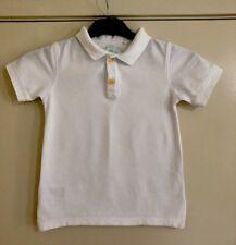 Boys COUNTRY ROAD White Polo Top. Size 5-6. EUC