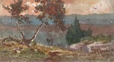 GENERAL SIR GEORGE CHARLES D'AGUILAR Painting BROCKEN GERMANY LANDSCAPE c1840