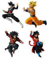 Dragon Ball Super VS DB Battle Figure 07 set of 4 SS4 Broly Xeno Goku Bandai