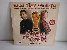 """MAXI 12"""" YOUSSOU N DOUR / AXELLE RED La cour des grands Coupe du monde football"""