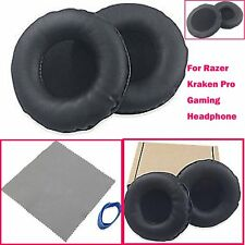 Ear Pads Cushions for Razer Kraken Pro Gaming Headphone PU Leather Replacement