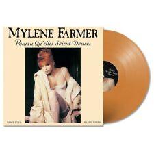 """MYLENE FARMER POURVU QU'ELLES SOIENT DOUCES Maxi vinyle couleur 12"""""""
