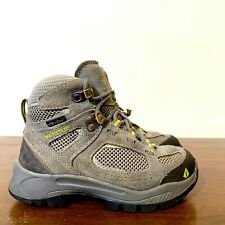 Boy's Youth Vasque Breeze 7213 M Ultra Dry Gray Leather Hiking Boots Size 13M