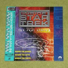 INSIDE STAR TREK The Real Story - RARE 2000 JAPAN LASERDISC + OBI (PILF-2792)