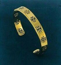Tory Burch Gold Pierced T Cuff Bracelet &  Free Shipping