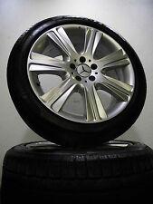 """4 pneus hiver 245 45 r19 Mercedes Classe S w222 19"""" Jantes Alu RDK Runflat"""