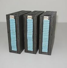 Siemens 6ES7331-1KF01-0AB0 E-Stand:5 (lot of 3)