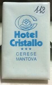 SAPONETTA HOTEL CRISTALLO 3 STELLE CERESE (MN) RETTANGOLARE -INCARTATA - N. 112