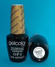 OPI GelColor HL E49 ALL SPARKLY AND GOLD Mariah Carey Holiday Gel Color *Ltd Ed