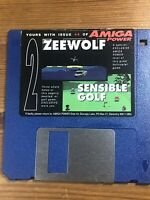 Amiga Power Magazine cover disk 44 Zeewolf Sensible Golf TESTED WORKING