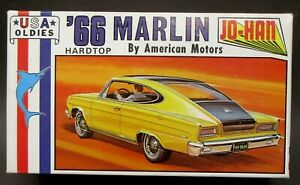 Johan C-3666 1966 MARLIN HARDTOP American Motors 1/24 model car kit Parts Mint
