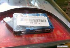 Targus 4-Port Mini USB 2.0 Hub mit Netzteil, Blau, NEU