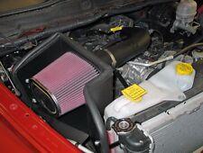 K&N Performance Intake w/Air Box 2002-2012 Dodge Ram 1500 4.7L V8 +8HP +9FTLBS