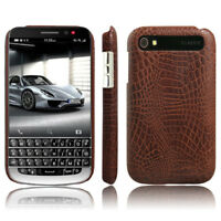 Luxury Crocodile Grain Leather Thin Phone Case Cover For BlackBerry Classic Q20