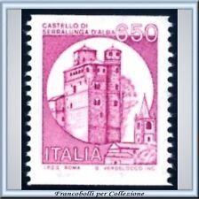 1988 Repubblica Castelli Bobina L 650 n 1530F ** Bobine