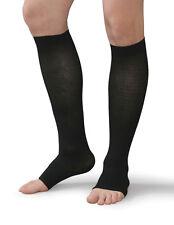 Knee High 30-40 Compression Stocking XXL-S Black/Beige