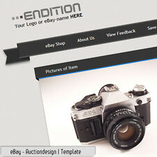 eBay Professional Custom Design Auction Listing Template - 2017 conform