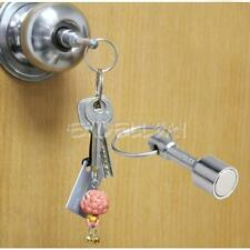 2 Pcs Keyring Holder Magnet Keyrings Super-Strong Neodymium Pocket Key Chain New
