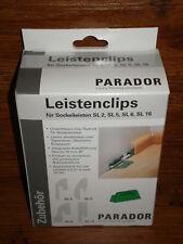 PARADOR Leistenclips Clipse f. SL2, HL1, HL2 und HL3  GRÜN