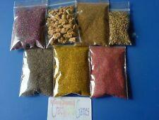 FLOCK & GRAVEL  ENVIRONMENT BASE KIT FOR WARHAMMER ~ DESERT SANDS