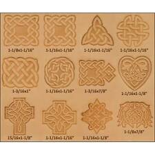 Craftool Celtic Stamp Set Of 12 8161-00 by Tandy Leather