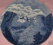 Souvenir Plate Mt Rushmore 10 3/4 Inches