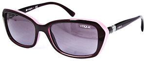 Vogue Damen Sonnenbrille VO2964-SB 2321/8H 55mm violett rosa 269 31