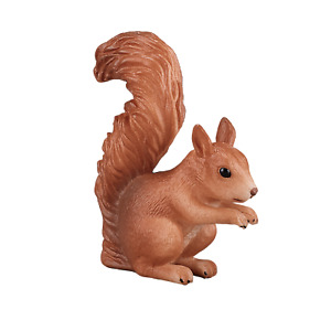 .Mojo RED SQUIRREL Wild zoo animals play model figure toys plastic forest