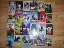 24 Hardcover PONY EXPRESS Nancy Drew EXCELLENT Carolyn Keene HORSE chapter books