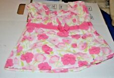 GYMBOREE Dress Size 5 GROWING FLOWERS  Floral Bow Dress A20